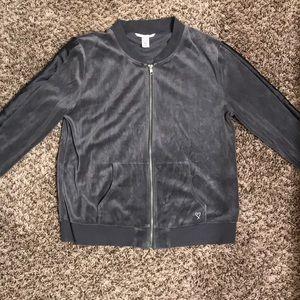 Charcoal grey zip up jacket